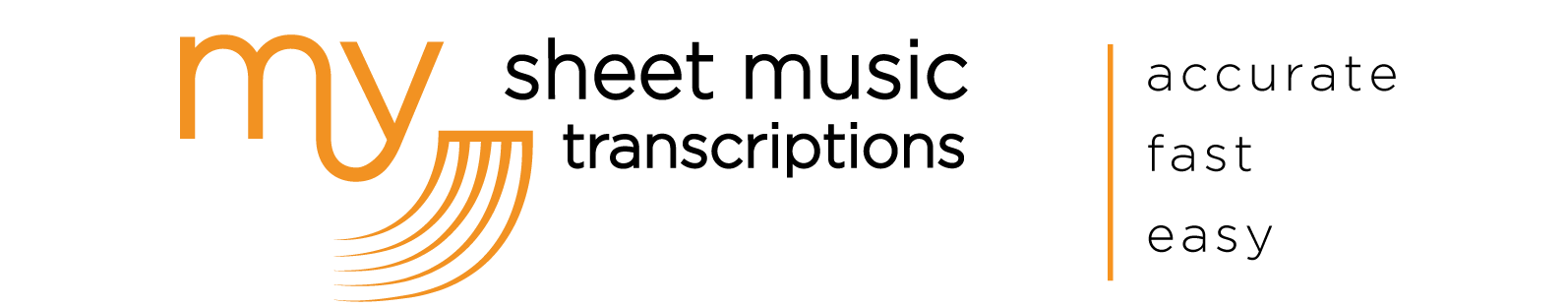 My Sheet Music Transcriptions • Music Transcription Service