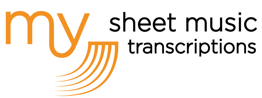 My Sheet music transcriptions service
