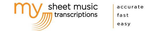 My Sheet Music Transcriptions