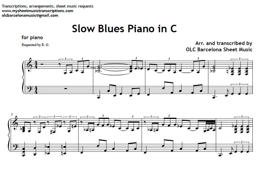 Piano easy piano sheet : Etude #3
