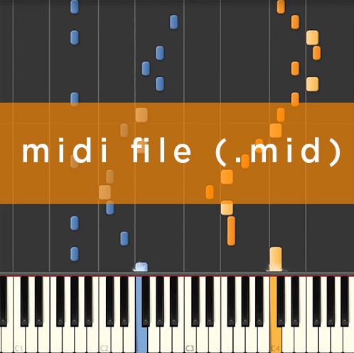 Midi sample image - music transcription service