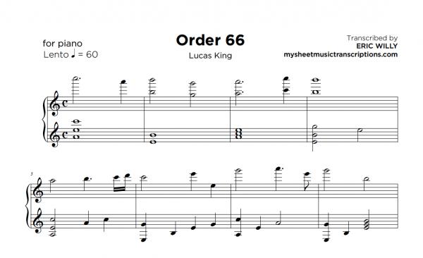 Order 66 - Star Wars (Lucas King)