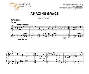 Amazing Grace (John Newton) - MSMT