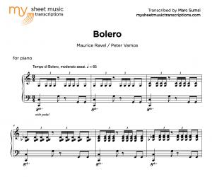 BOLERO (M. Ravel : P. Vamos) - MSMT
