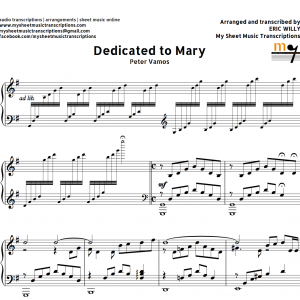 DEDICATED TO MARY (Peter Vamos) - MSMT