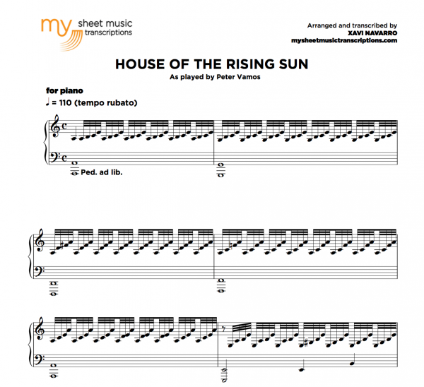House of the Rising Sun - MSMT and PVM