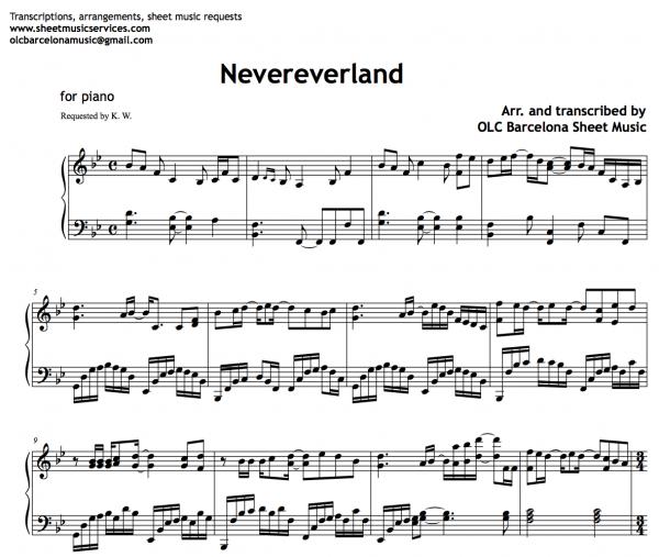 Nevereverland COMPLETED - MSMT