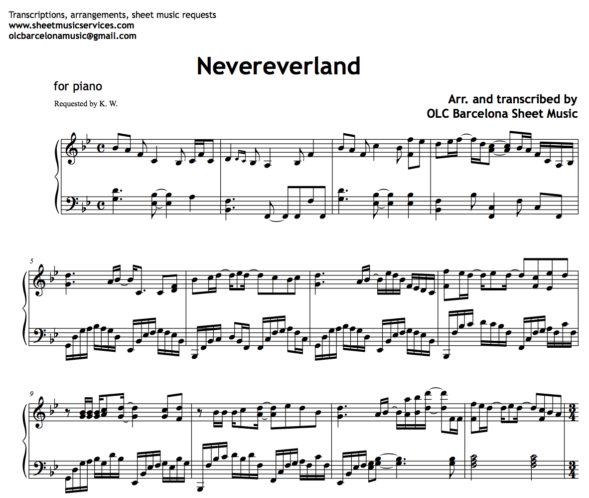 Nevereverland COMPLETED - MSMT