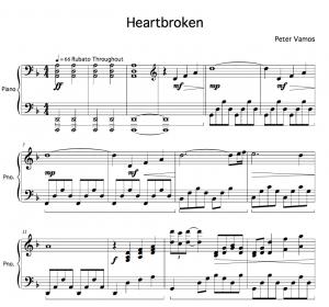 Heartbroken - Peter Vamos