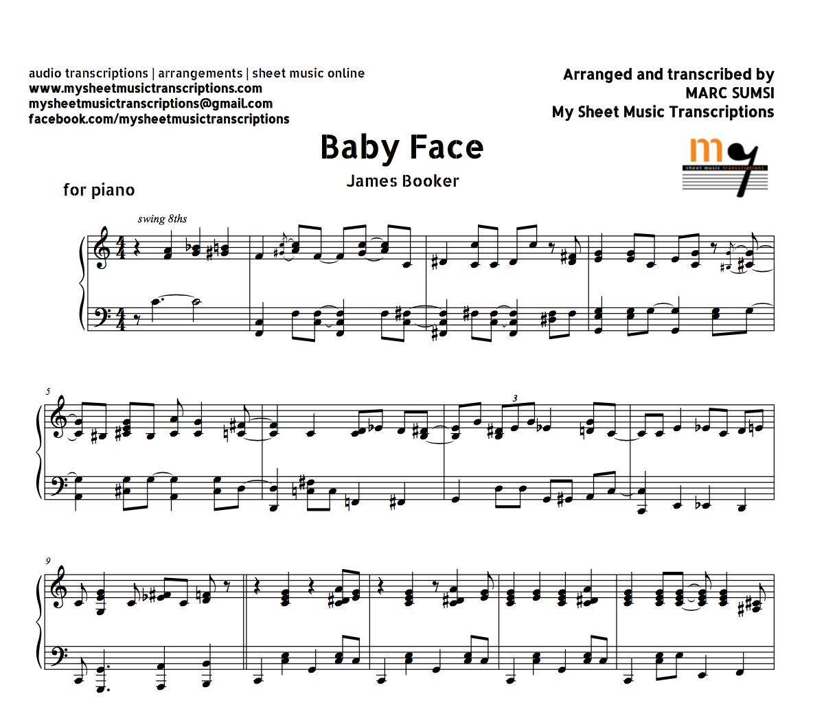 jazz piano solo transcription pdf