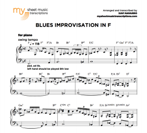 Blues Improvisation in F