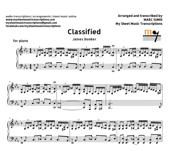 CLASSIFIED - James Booker
