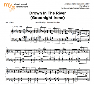 DROWN IN THE RIVER (GOODNIGHT IRENE) (Lead Belly - James Booker)
