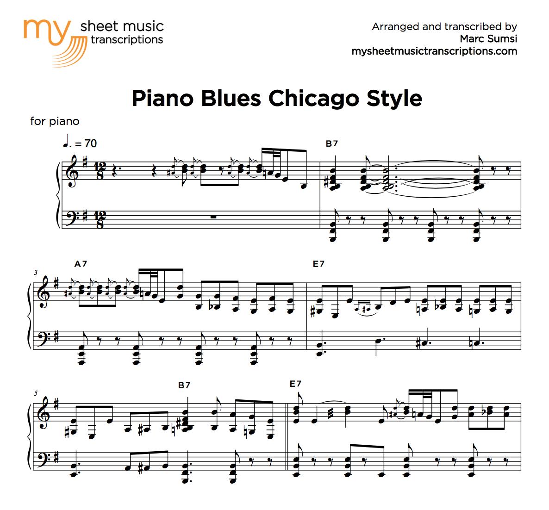 Sheet Music (.pdf) • My Sheet