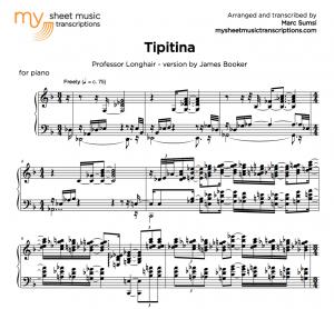 TIPITINA (Professor Longhair) version by James Booker