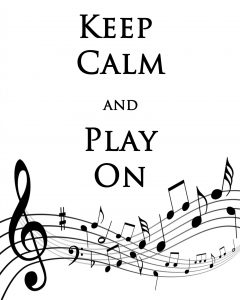 Impossible Sheet Music - Keep Calm