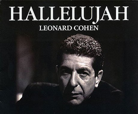 Popular sheet music - Hallelujah