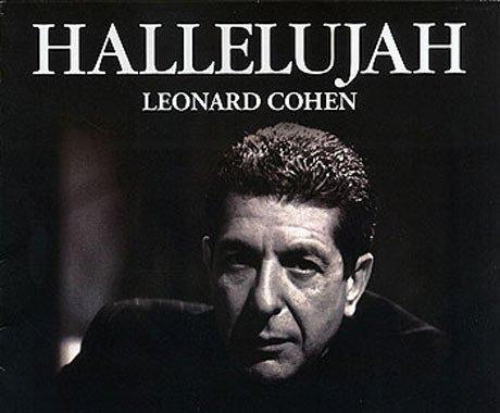 Popular sheet music - Hallelujah