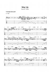 Bass Tab Transcription Service