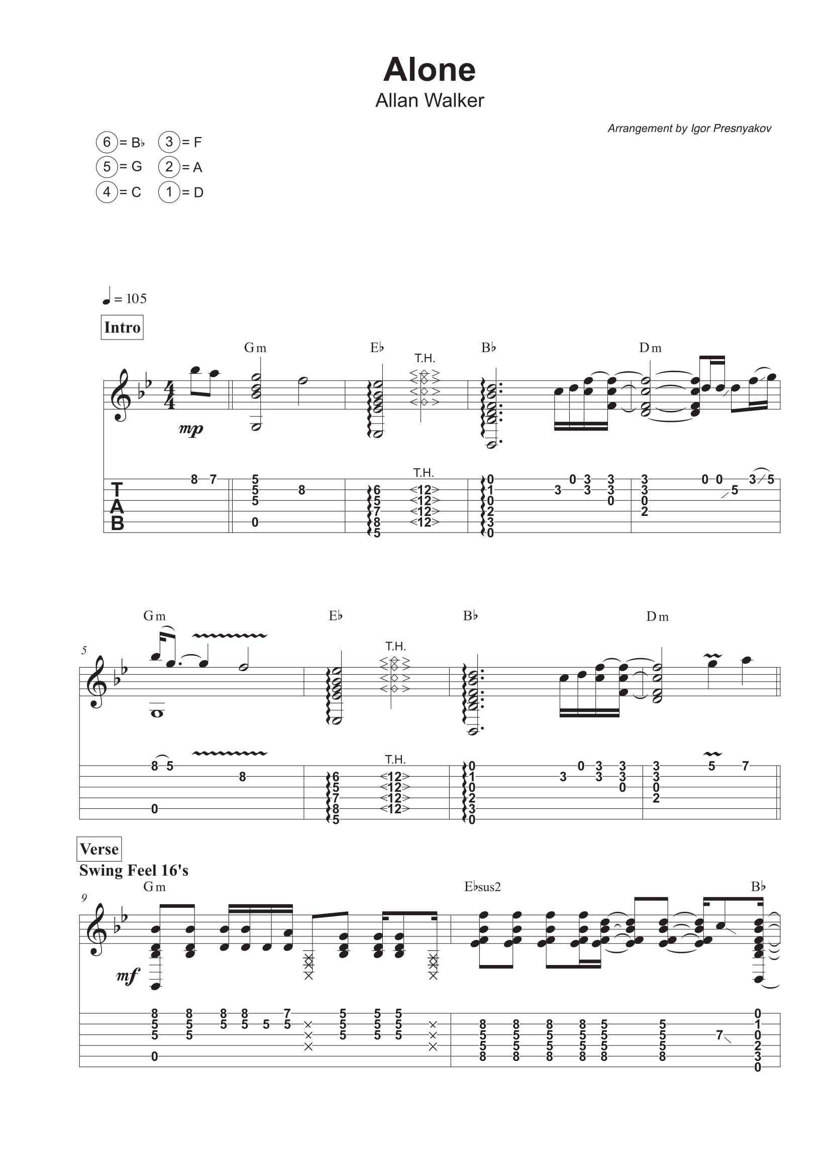 The a team guitar chords choice image guitar chords examples guitar tab transcription service my sheet music transcriptions guitar tab transcription service fatherlandz choice image hexwebz Images