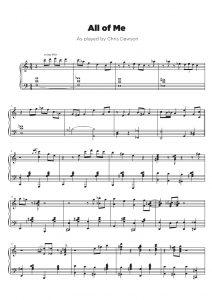 Jazz Piano Transcription Service