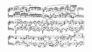 Impossible To Play Sheet - Rachmaninoff 3rd Piano Concert