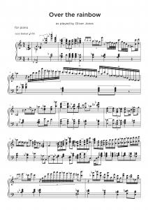 Piano jazz trio transcription sample - Oliver Nelson