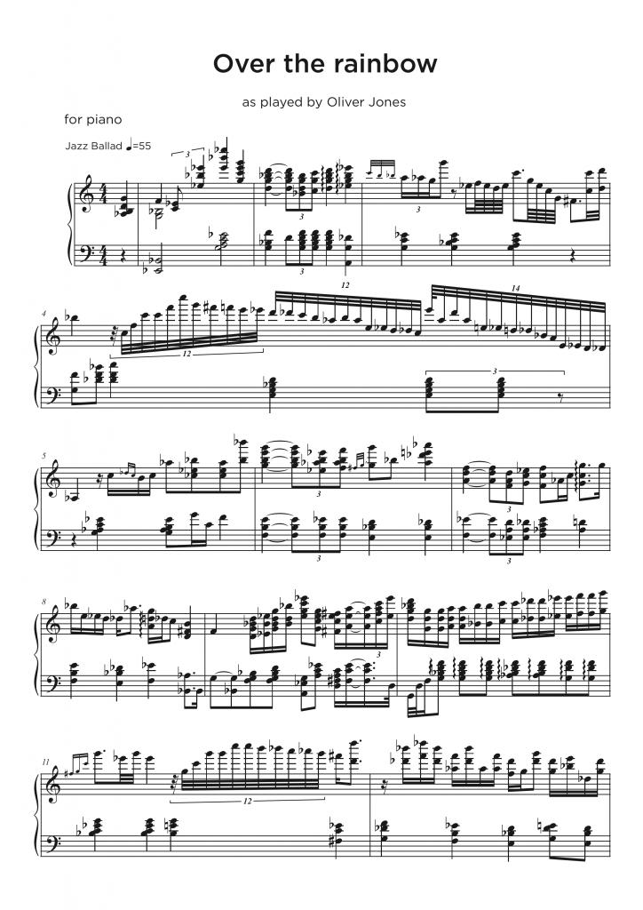 Piano Jazz Trio Transcriptions • My Sheet Music Transcriptions