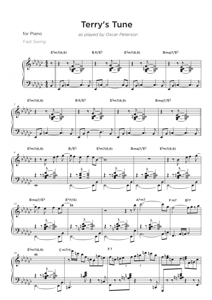 All Music Chords skylark sheet music : Jazz Piano Transcriptions Archive • My Sheet Music Transcriptions