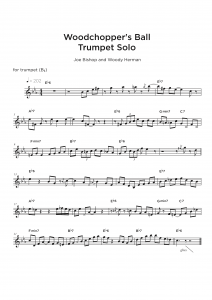 Jazz Transcription - trumpet sample
