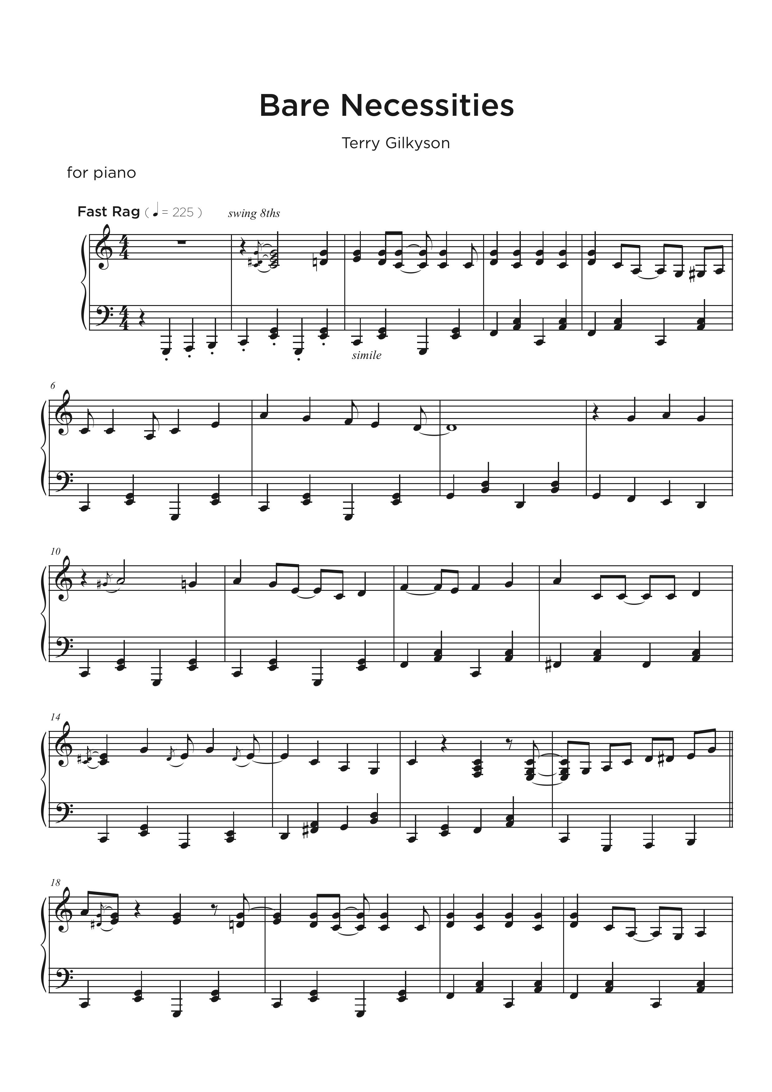 Piano Blues Transcription Service - piano cover