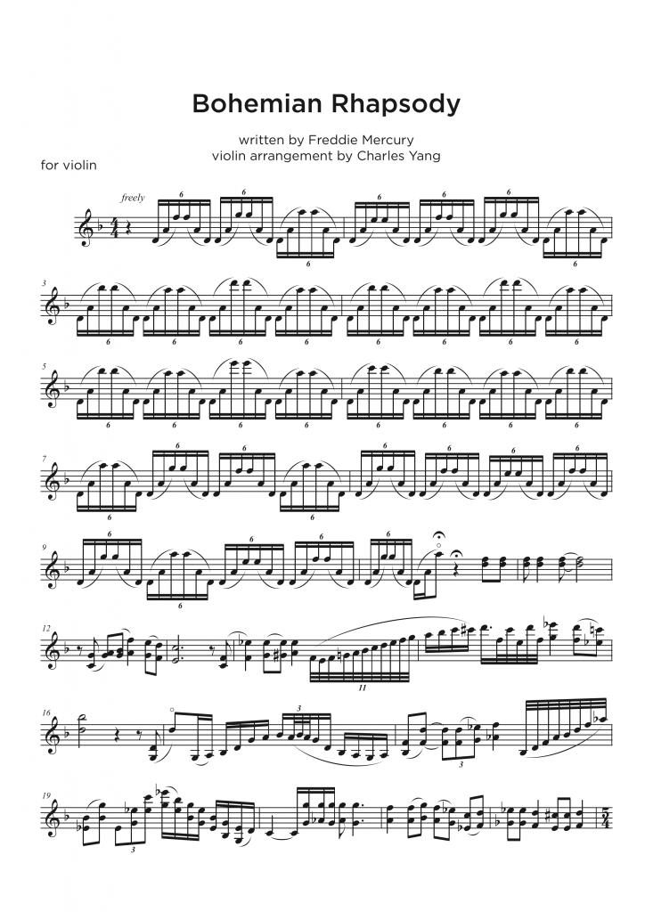 Violin Transcription service • My Sheet Music Transcriptions