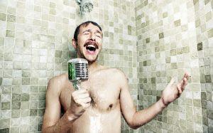 Man shower - Foto