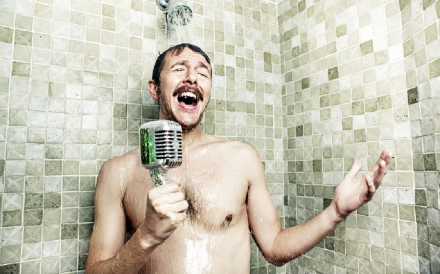Man Shower   Foto