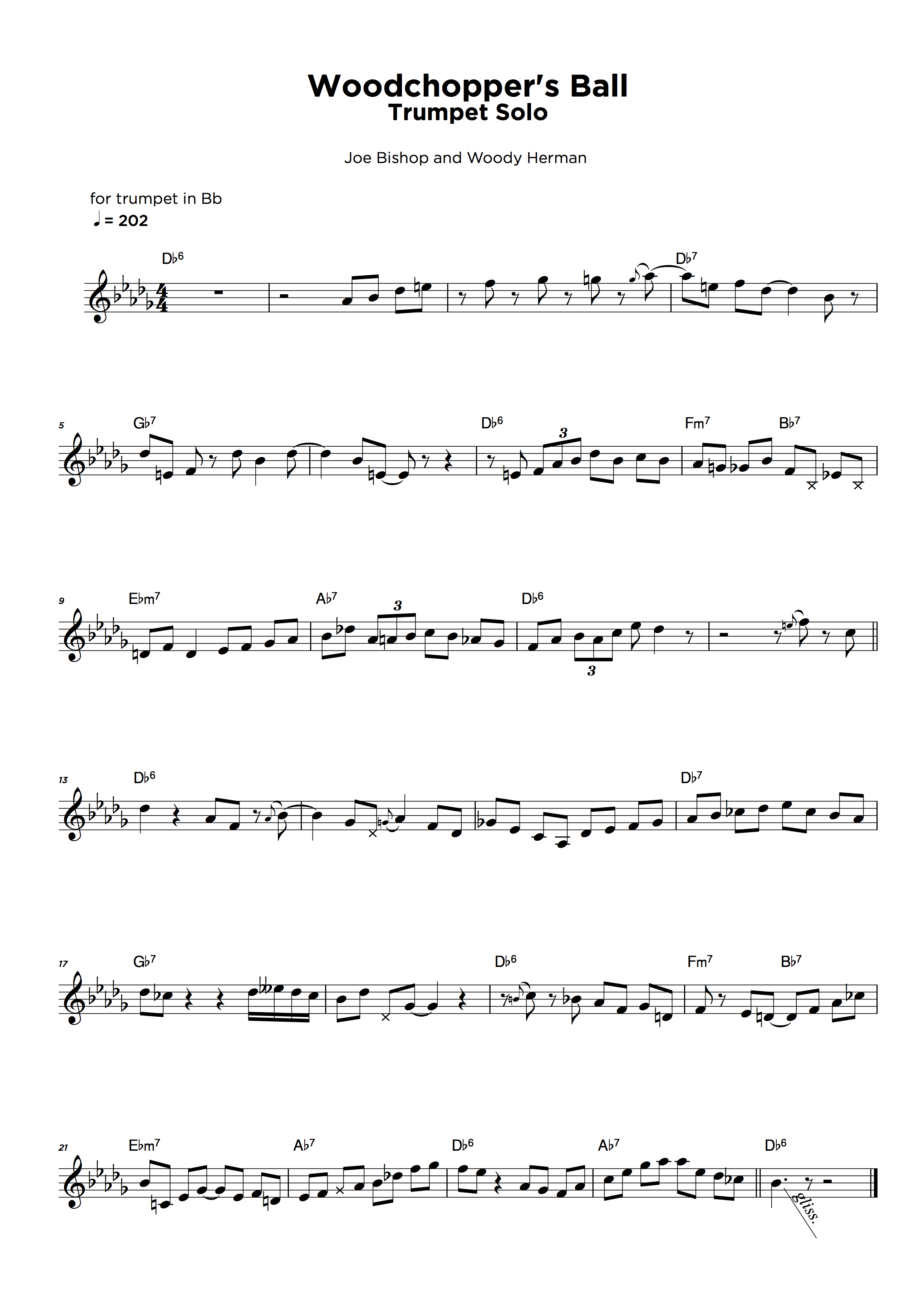 Lead sheet with chords transcription service