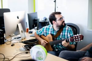 Music transcribers service