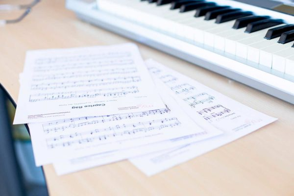 Professional sheet music transcribers