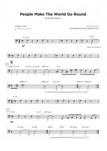 People Make The World Go Round (Nicholas Payton) - Rhythmic Chart sheet music