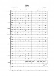 Alive - Jekyll & Hyde - Concert & Brass band sheet music