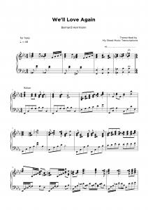 We'll Love Again - Doris Day - Harp sheet music