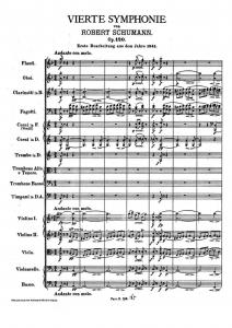 Original Vierte Symphonie - Copying / Digitizing Services sheet music