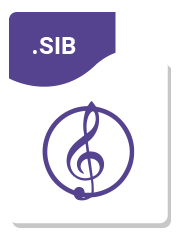 Sibelius sheet music format - Sheet music transcription service
