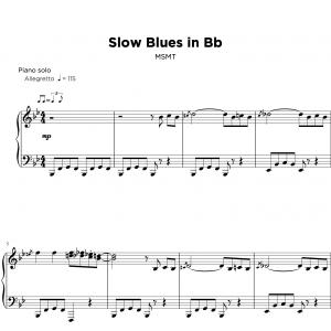 slow blues in Bb