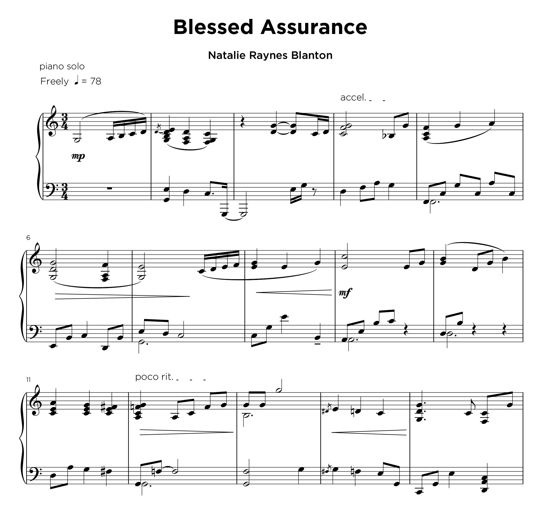 Blessed Assurance - Natalia Raynes