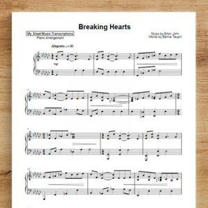 Breaking Hearts - Elton John