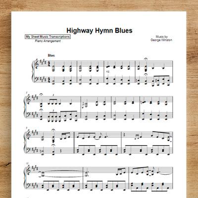 Highway Hymn Blues - George Winston