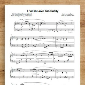 I Fall in Love Too Easily - Joel Gonzalez