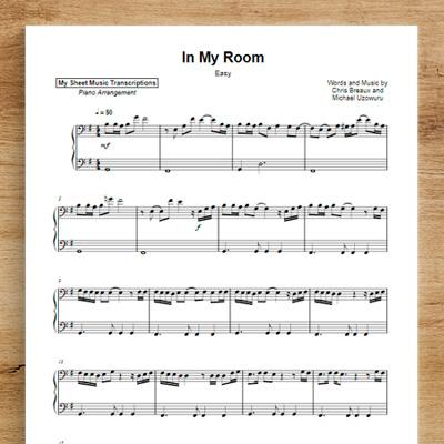 In My Room [easy] - Frank Ocean