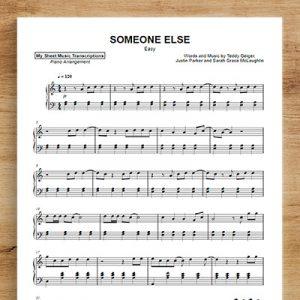 SOMEONE ELSE [easy]