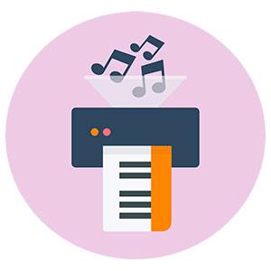 Music Transcription Service - print sheet music pdf
